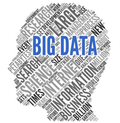 Big data: Grande volume de dados + Coleta de dados