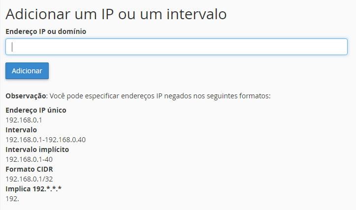Como bloquear IP