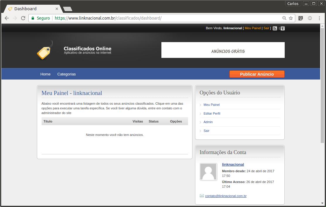 bd721dec6 Sistema de classificados WordPress