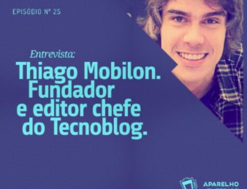 Podcast Aparelho Elétrico, entrevista com fundador do Tecnoblog
