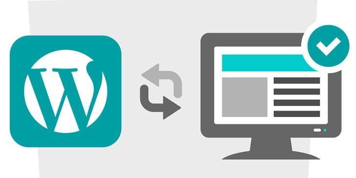 Como atualizar o WordPress pela área administrativa do WordPress