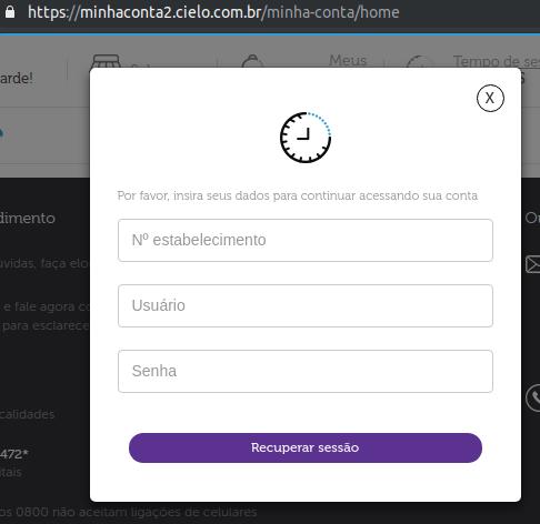 Login Cielo API Visa Checkout