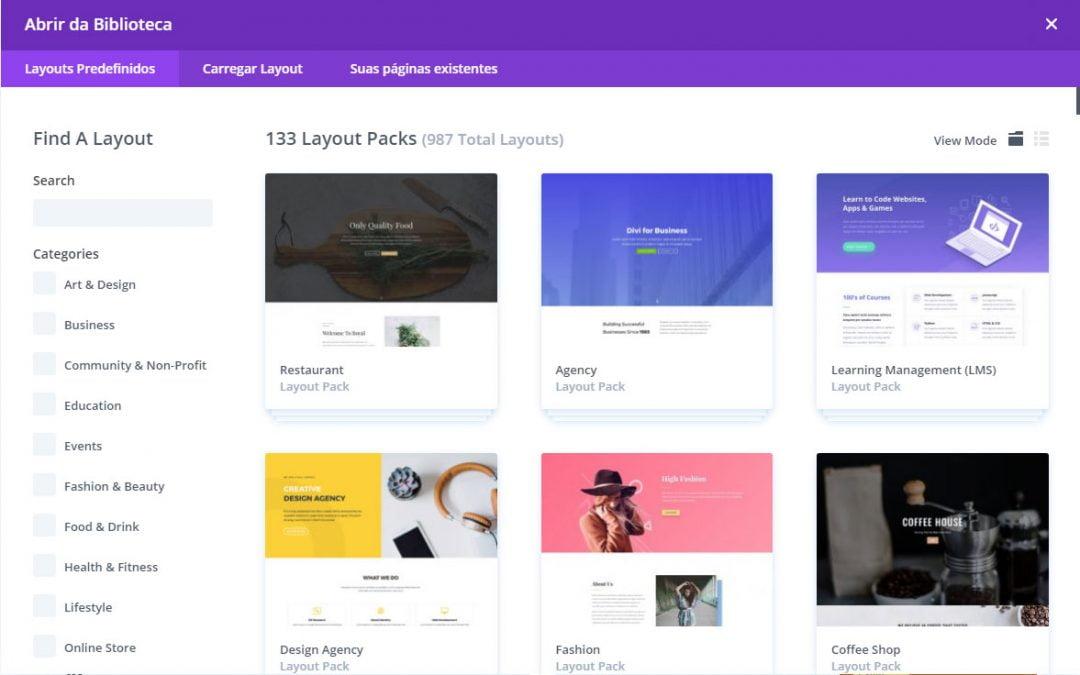 Divi Theme: o melhor tema para WordPress com centenas de templates