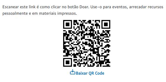 Doação QR Code