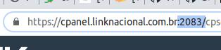 Porta cPanel URL