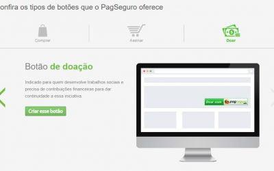 Como criar um botão de doação do PagSeguro