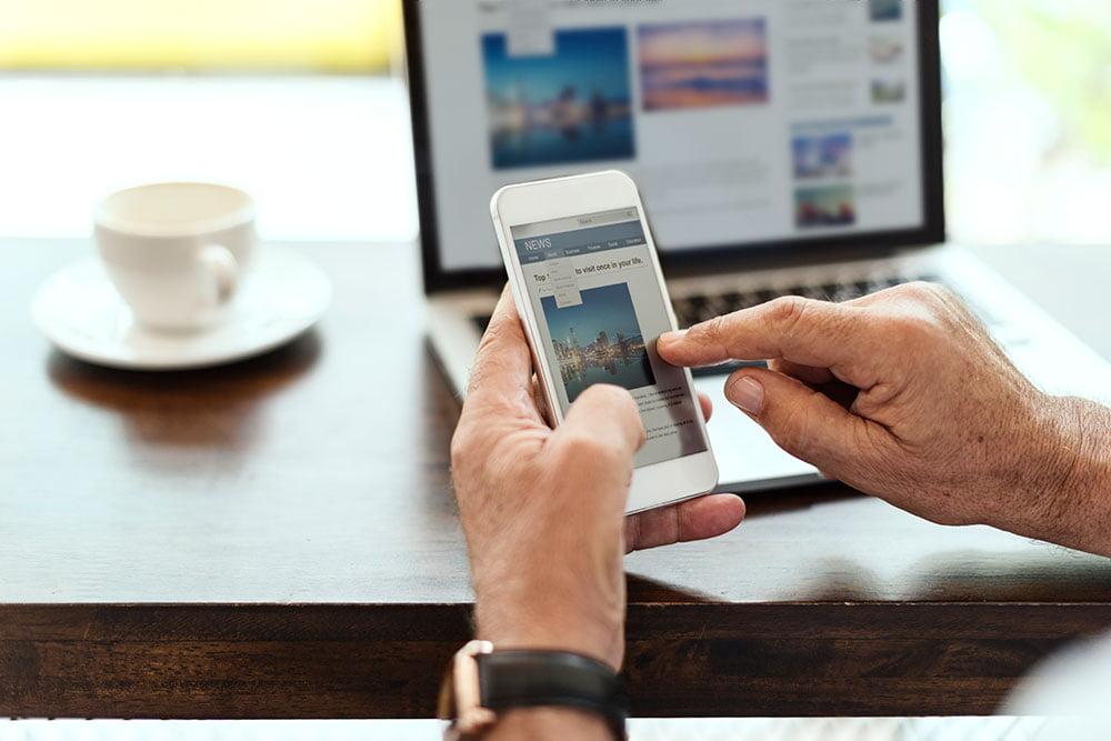 criar site restaurante mobile