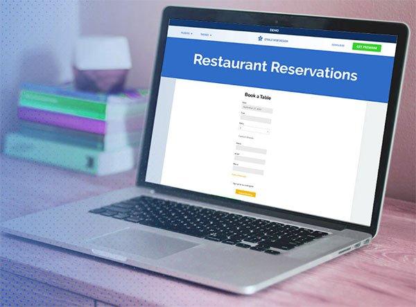 Five Star Restaurant Reservations