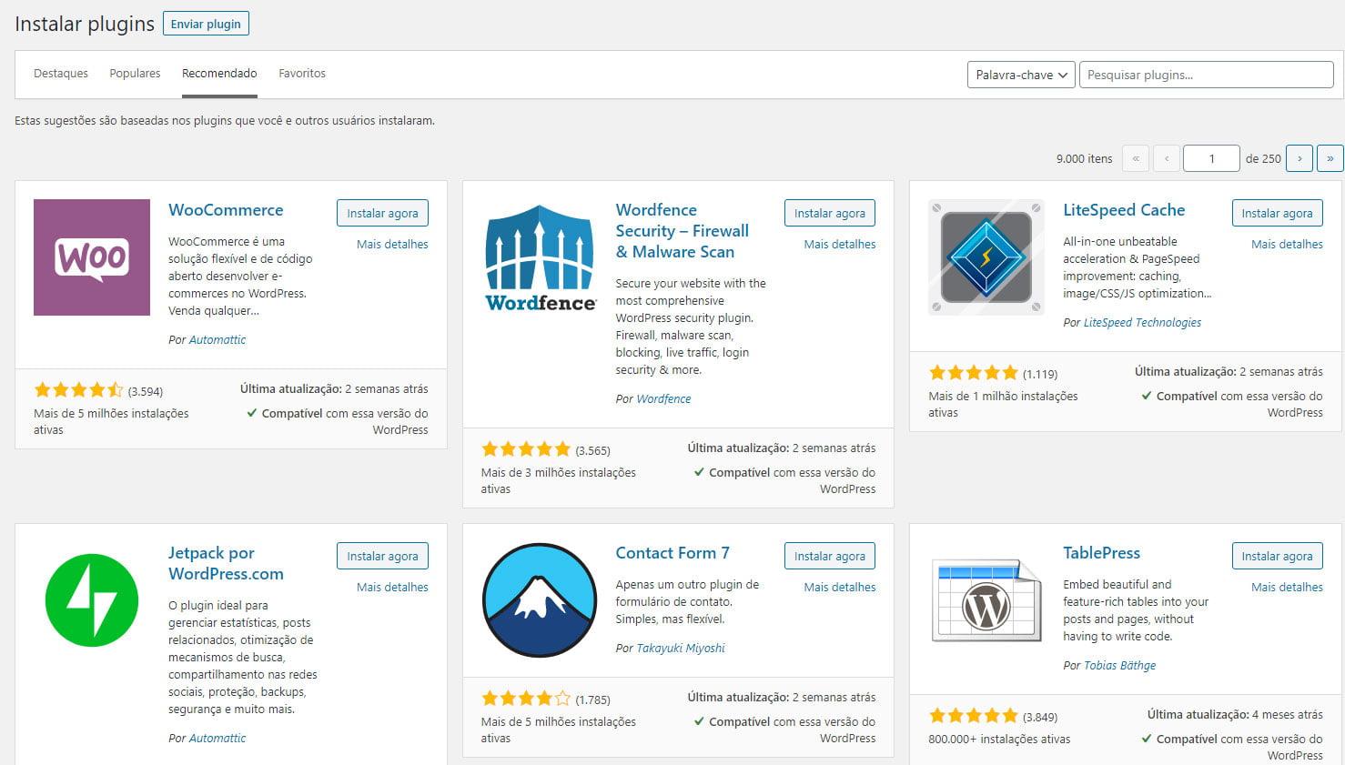 Como escolher plugins para instalar no WordPress