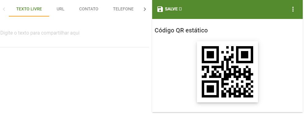 Imagem com QR Code