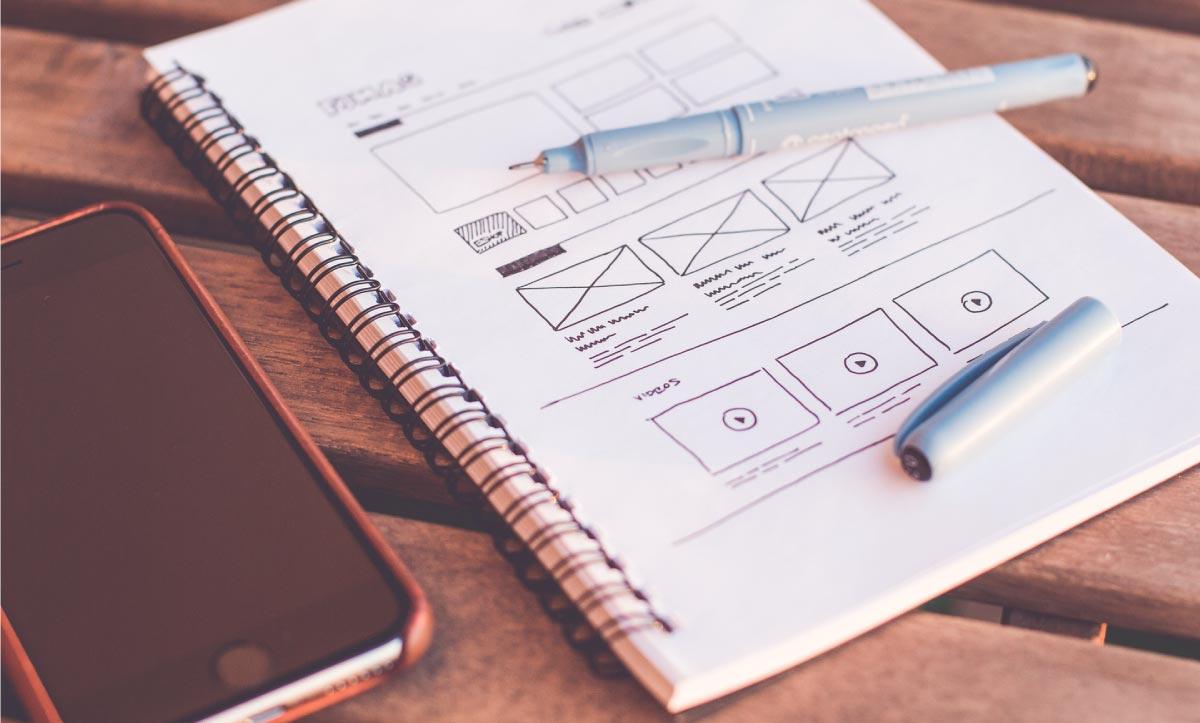 Desenvolvimento de UI design