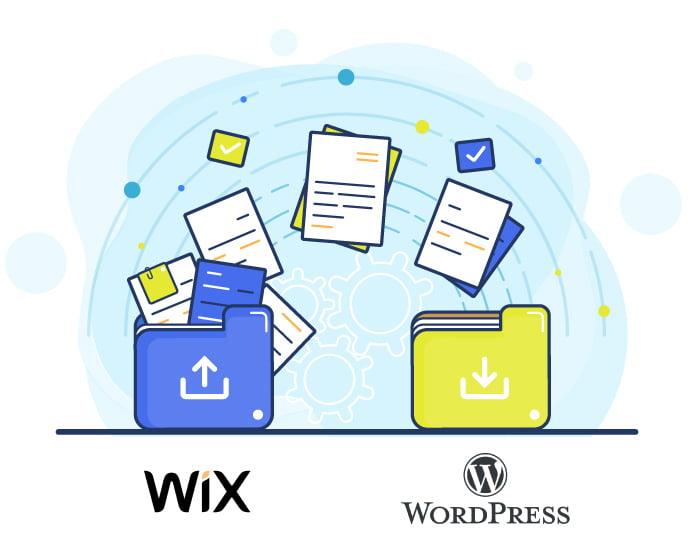 Migrar site do Wix para WordPress