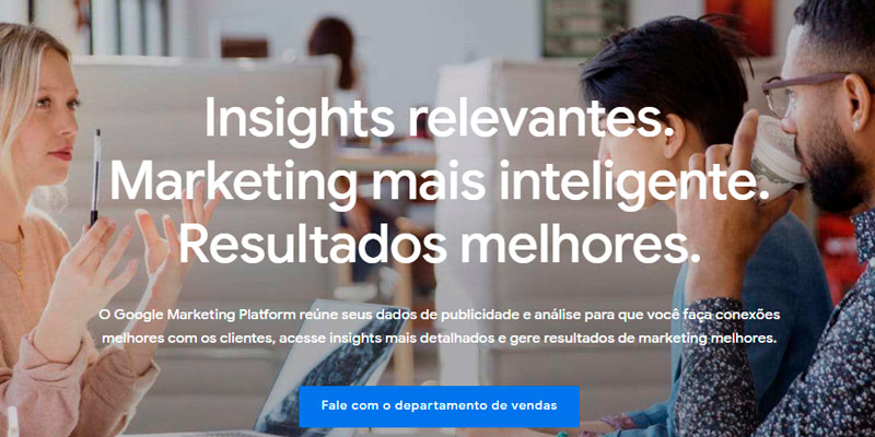 Google Marketing Platform para a sua empresa