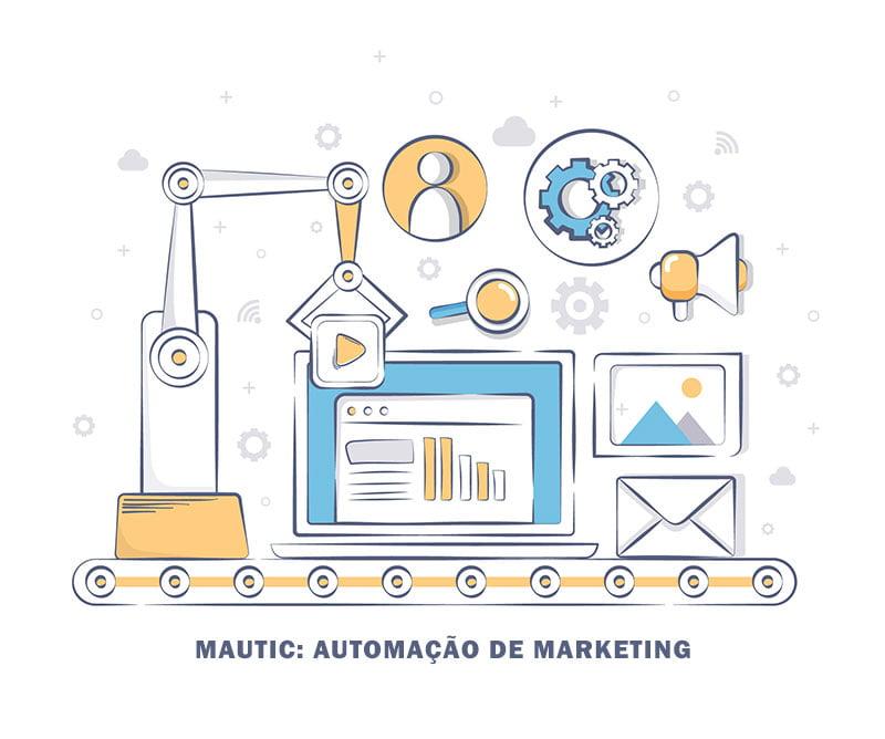 Mautic: automação de marketing gratuita