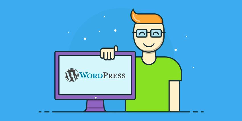 WordPress criar site