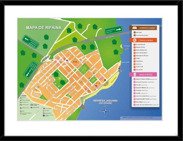 Mapa de Rifaina