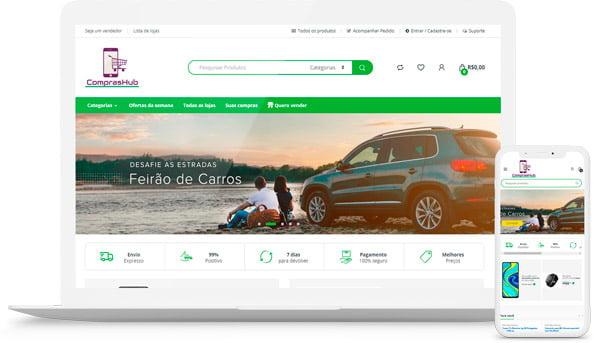Site Compras Hub