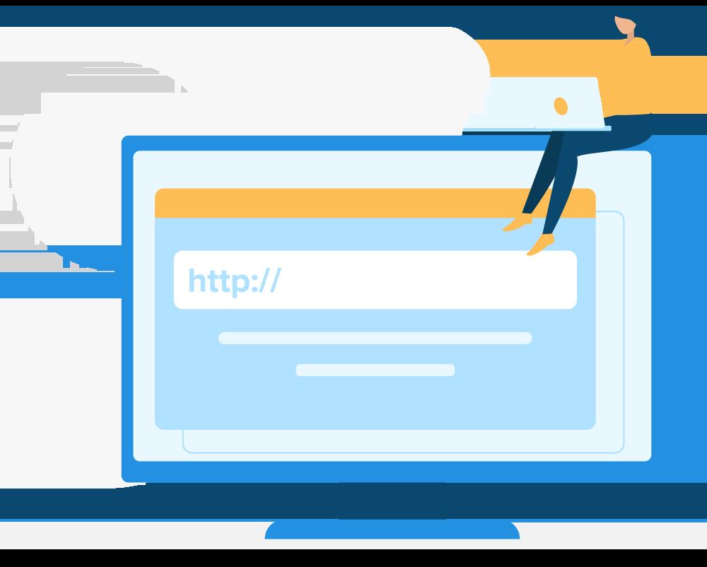Registro de domínio na internet