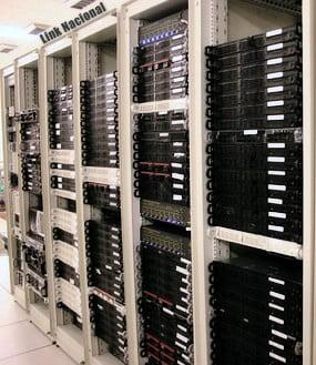 Servidor Data Center da Companhia Link Nacional
