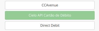 Ativar Cielo API cartão débito