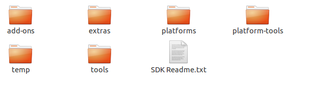 SDK descompactado