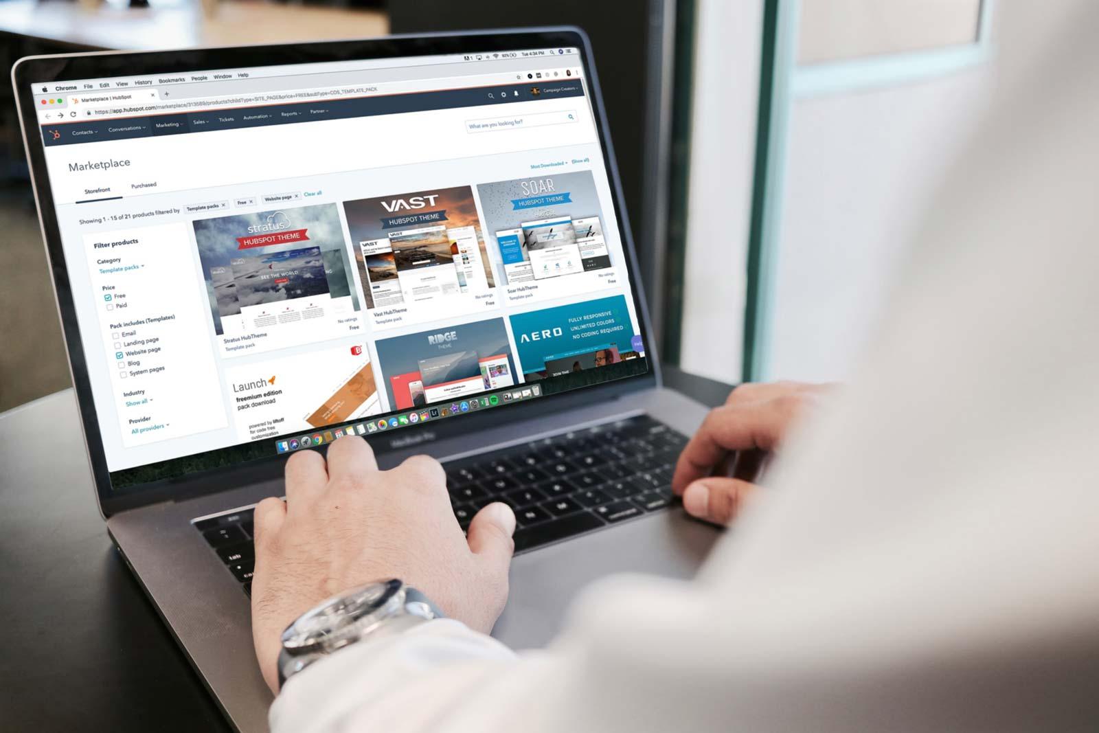 Usuário de um site