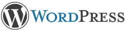Wordpress logo vertical