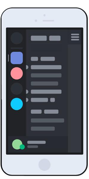 Servidor celular discord