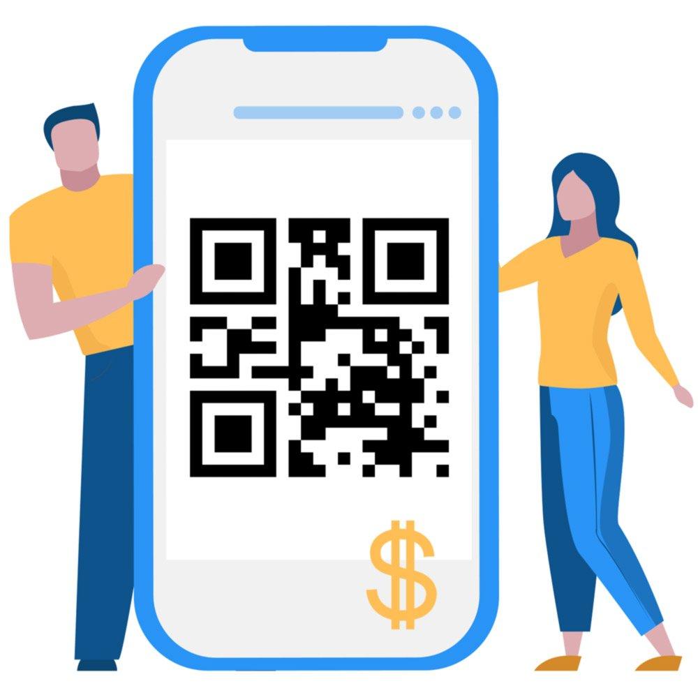 Receber doações internacionais com Código QR