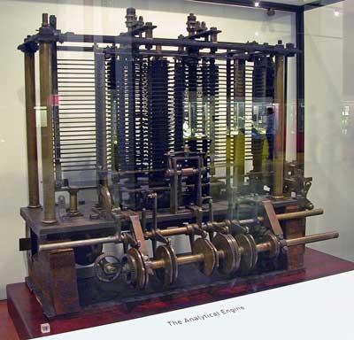 História do computador Babbage