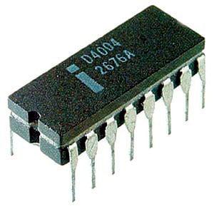 História do computador CHIP 4004