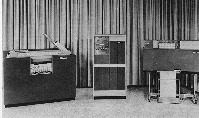 História do computador IBM 1401