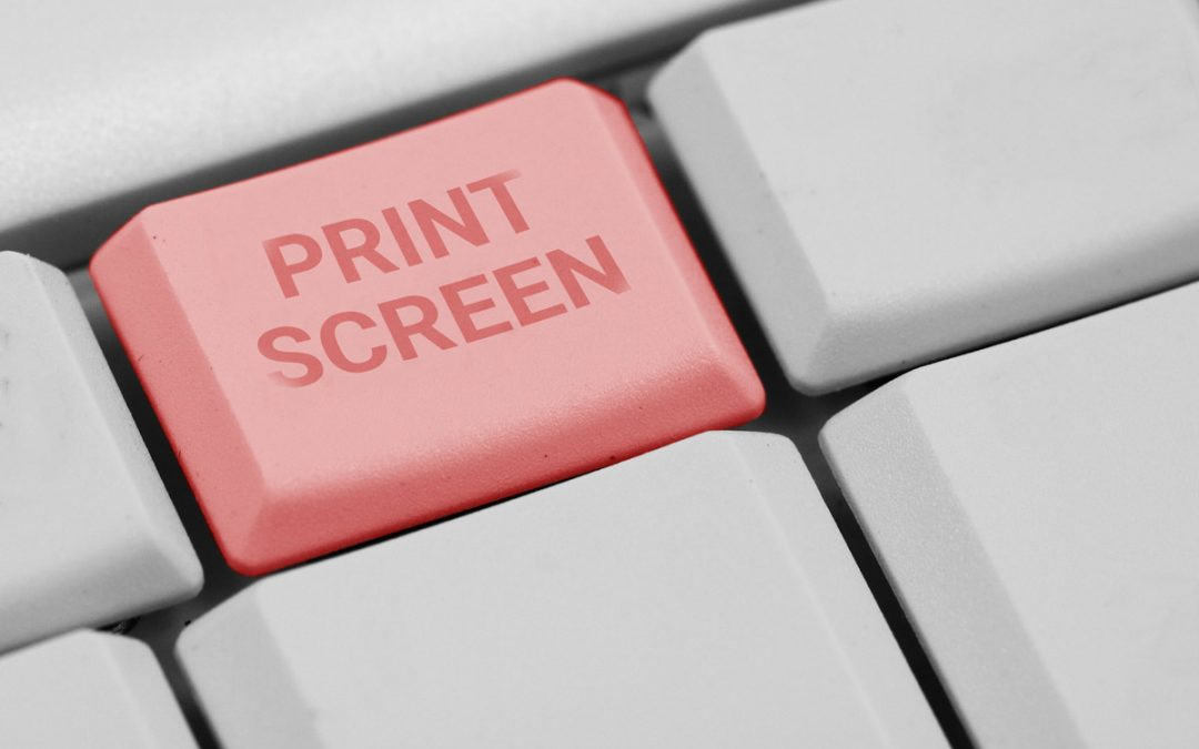 Como tirar print no PC?