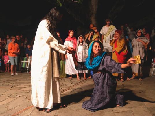 apresentação teatral