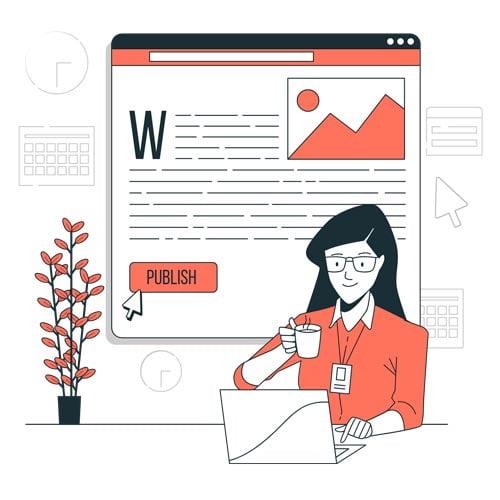 Contratar texto para site