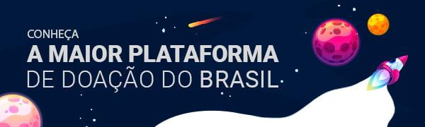 A maior plataforma de doação do Brasil